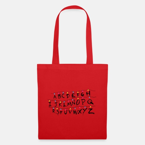 Stranger Things Alphabet Women's T-Shirts - Tote Bag
