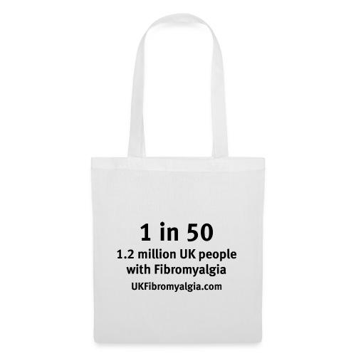 1in50 - Tote Bag