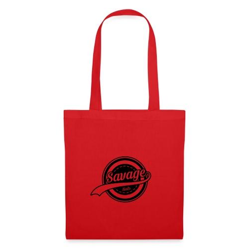 Savage Hals Balck Logo - Tote Bag