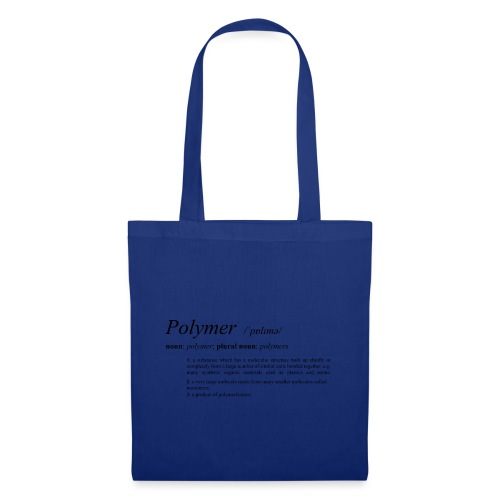 Polymer definition. - Tote Bag