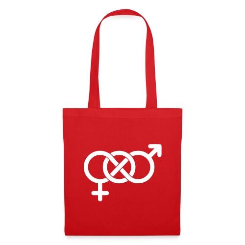 Bisexsymbol - Tygväska