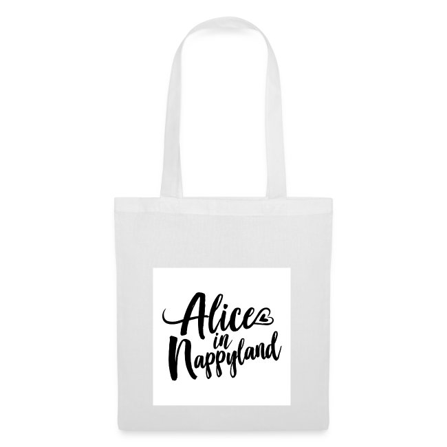 Alice in Nappyland Typography Black 1080 1