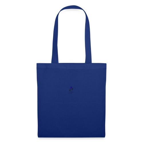 Fiore blu - Borsa di stoffa