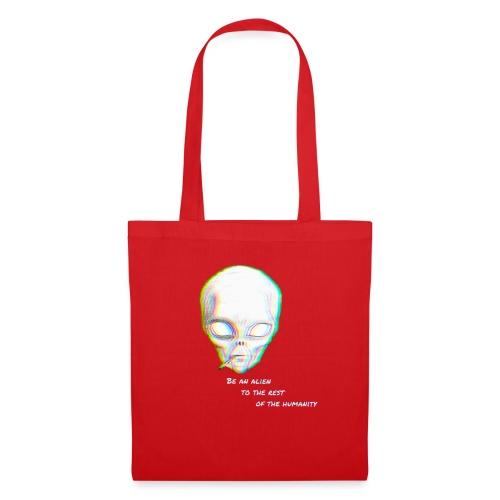 Alien to the world - Bolsa de tela