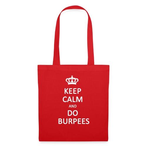 Keep calm and do burpees - Tote Bag