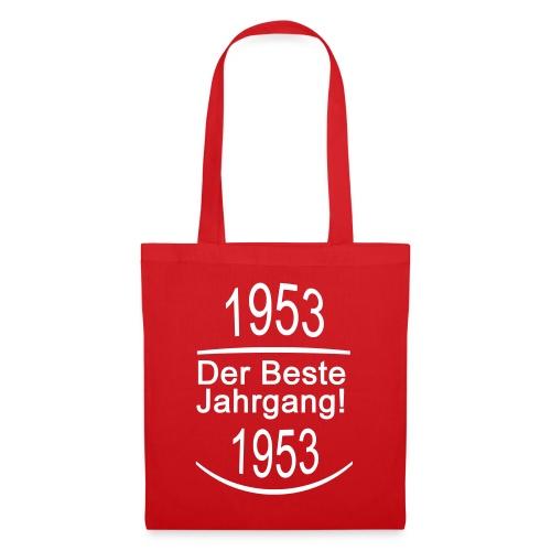 besterjahrgang 1953 - Stoffbeutel