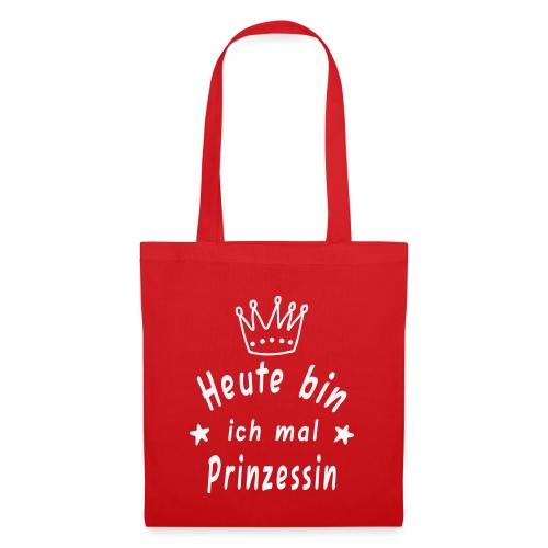 Heute mal Prinzessin, Krone, Geburtstag - Stoffbeutel