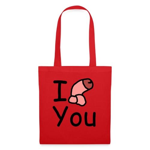 I dong you pillow - Tote Bag