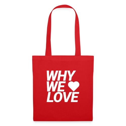 WHY WE LOVE logo web - Bolsa de tela