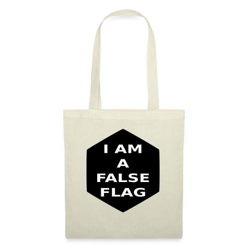 I am a false flag - Stoffbeutel