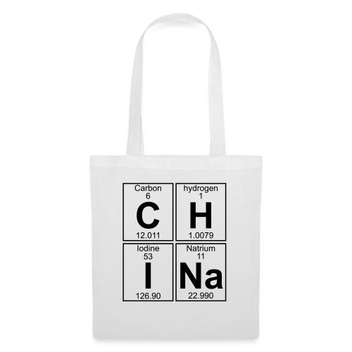 C-H-I-Na (china) - Full - Tote Bag