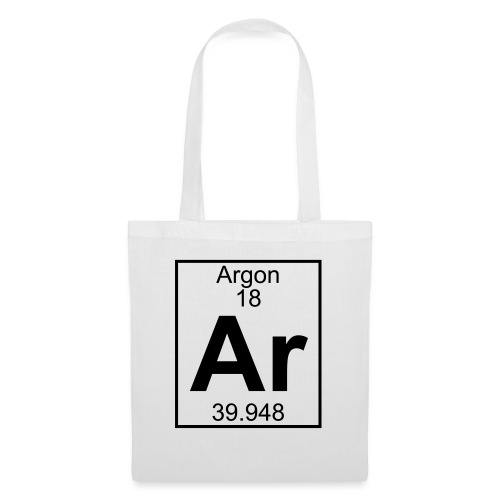 Argon (Ar) (element 18) - Tote Bag