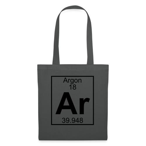 Argon (Ar) (element 18) - Tote Bag