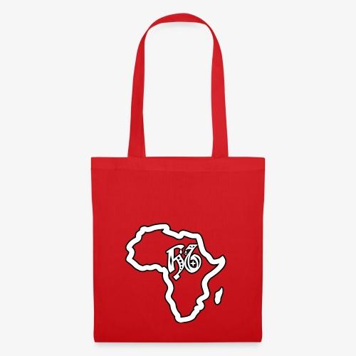 afrika pictogram - Tas van stof