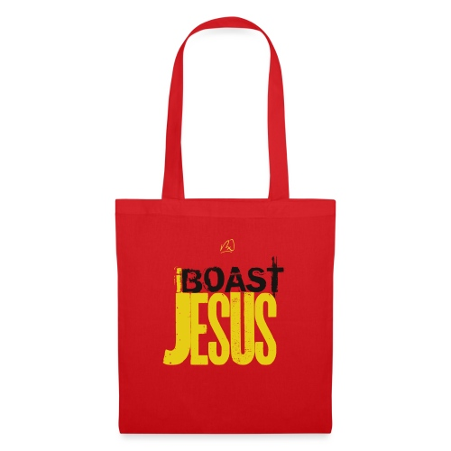 iBoast Jesus - Yellow n Black - Tote Bag