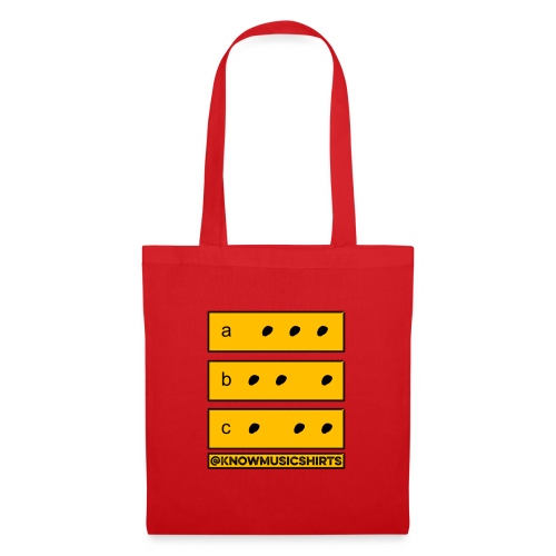 Shapes (for musicians) - Tote Bag