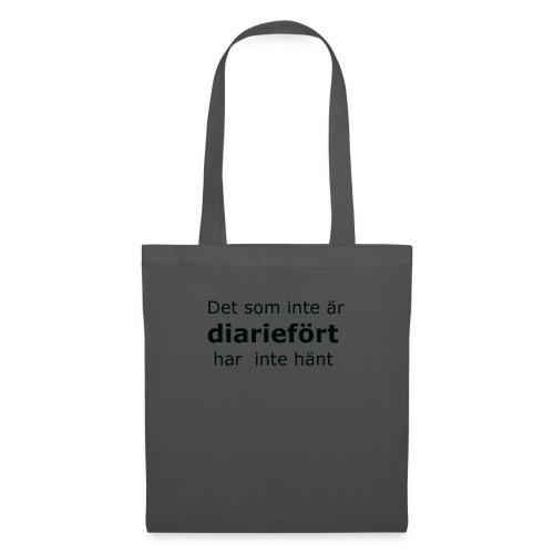 Diariefört - Tygväska