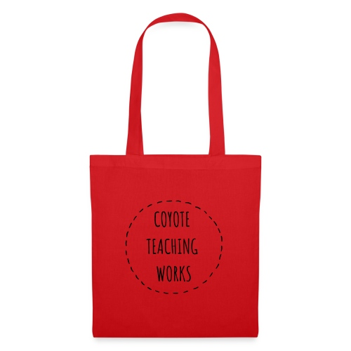 COYOTE TEACHING WORKS black - Stoffbeutel