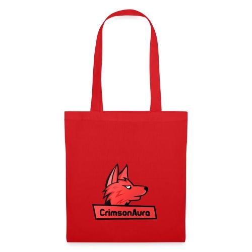 CrimsonAura Logo Merchandise - Tote Bag