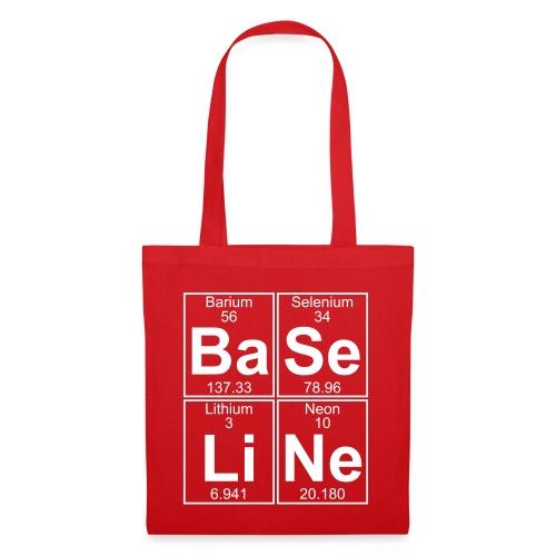 Ba-Se-Li-Ne (baseline) - Full - Tote Bag
