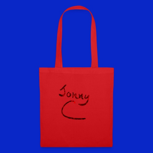 Jonny C Red Handwriting - Tote Bag
