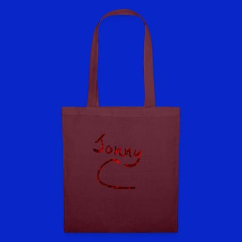 Jonny C Red Handwriting - Tote Bag