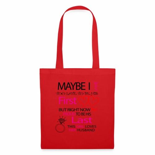 I love my husband - gift idea - Tote Bag