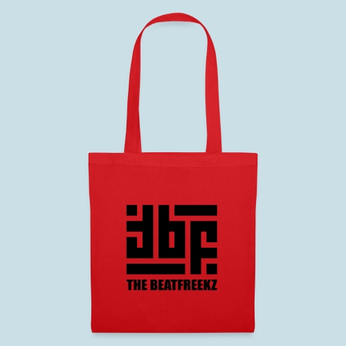 the beatfreekz logo 3 black - Tote Bag