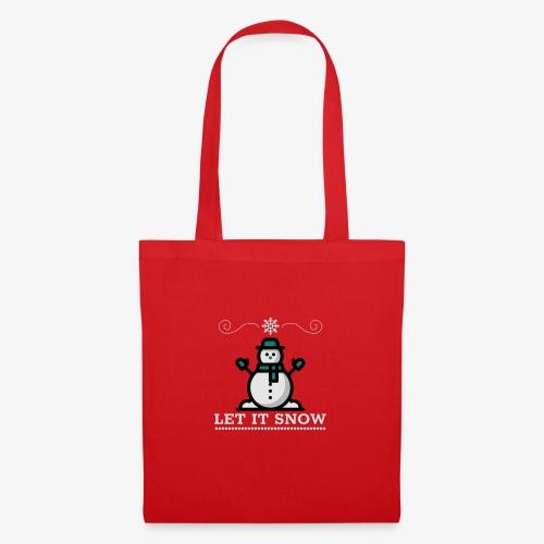 Let it Snow - Tote Bag