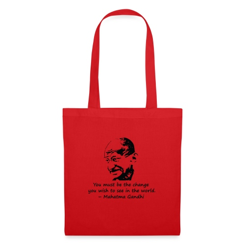 Be the Change - Tote Bag