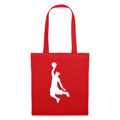 Basketball Player Silouette - Tote Bag