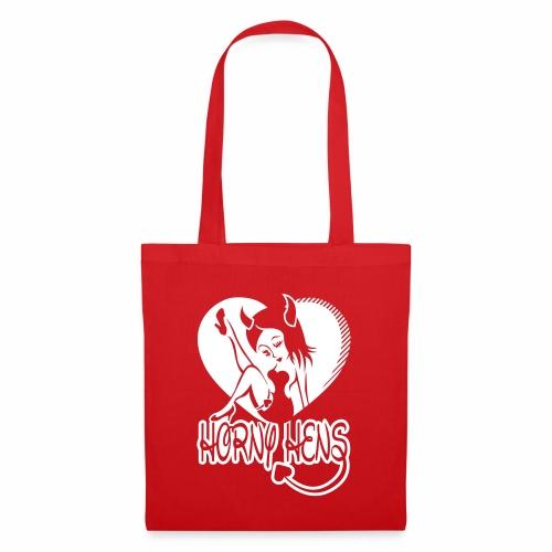 Horny Hens Heart - Tote Bag
