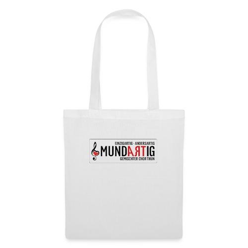 Logo Mundartig - Stoffbeutel