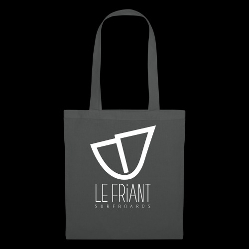 Logo Blanc Le Friant Surfboards - Tote Bag