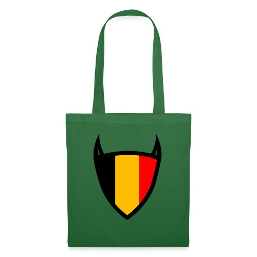 Diable du bouclier national belge - Sac en tissu