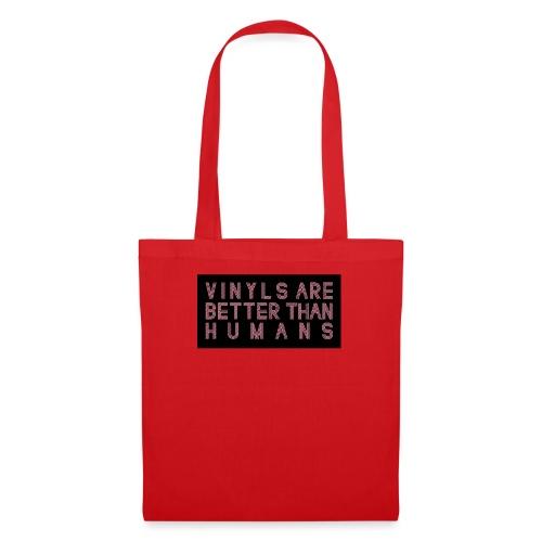 better than humans - Bolsa de tela