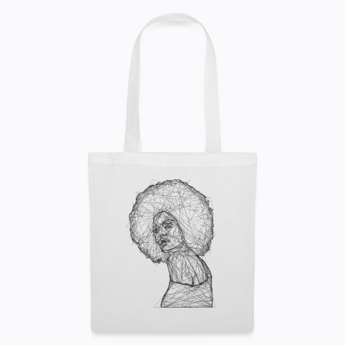 african afro - Tote Bag