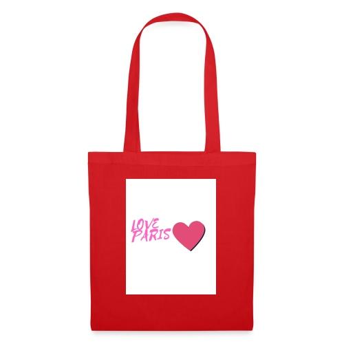 love paris rose - Tote Bag
