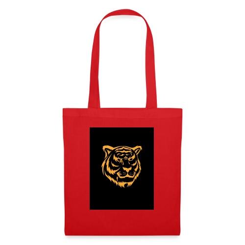 gold tiger - Bolsa de tela