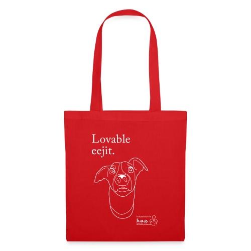 Lovable eejit - Tote Bag