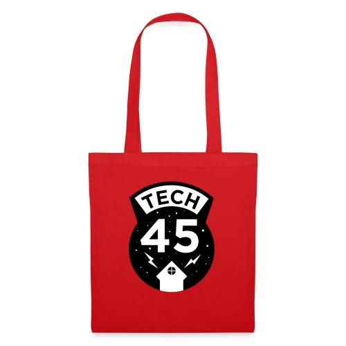 Tech45 logo - Tas van stof