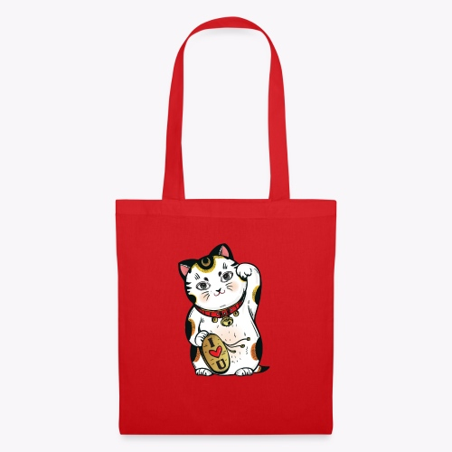 Love Lucky Cat - Tote Bag