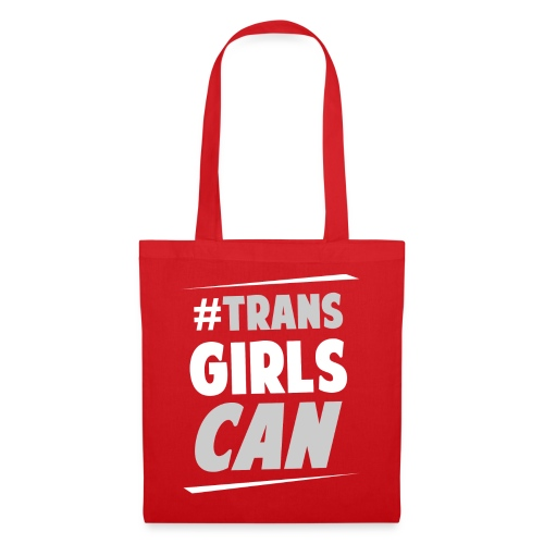 #TransGirlsCan Logo - Tote Bag