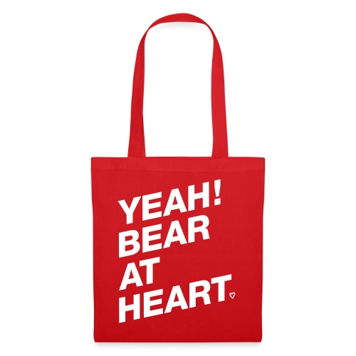 Yeah Bear at Heart - Stoffbeutel