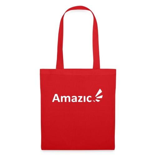 Amazic Logo White - Tote Bag