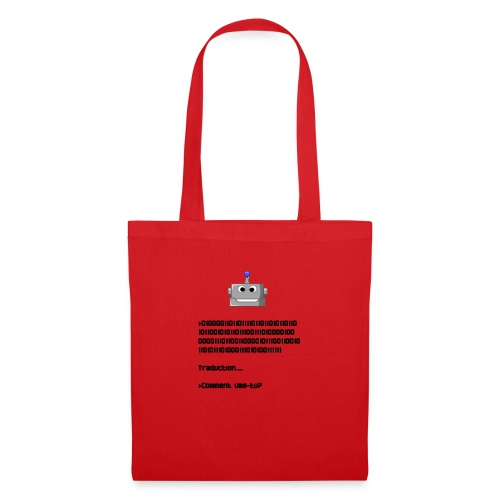Salutation robotique - Tote Bag