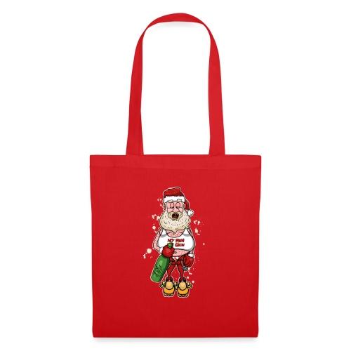 Bad Santa / Weihnachtsmann - Stoffbeutel