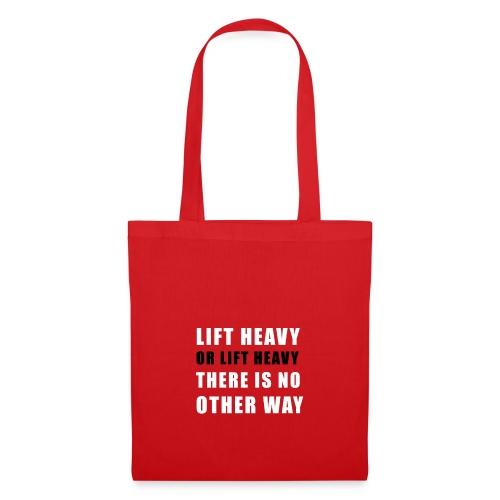 Lift heavy or lift heavy - Stoffbeutel