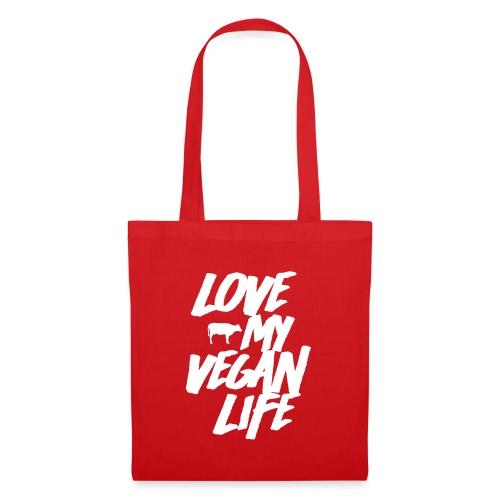 LOVE MY VEGAN LIFE - Tote Bag