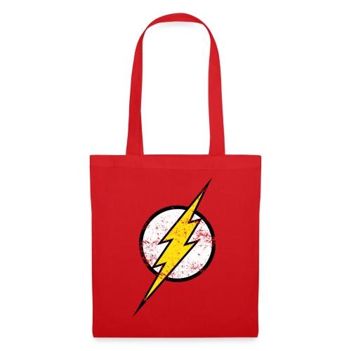DC Comics Justice League Flash Logo - Stoffbeutel